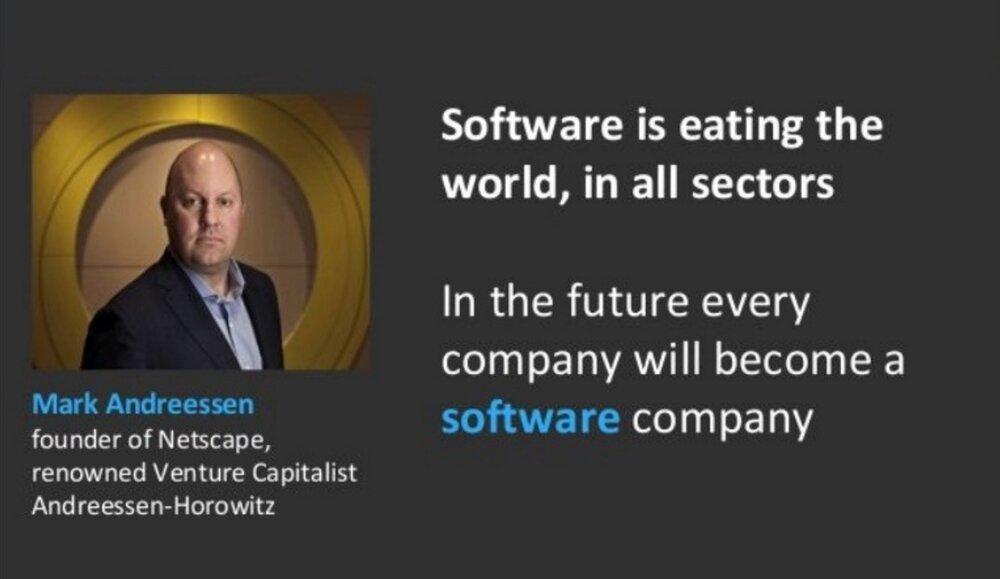 Software-ul ne devoreaza lumea